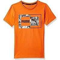 PUMA Alpha Graphic Tee B Firecracker Tişört Erkek çocuk