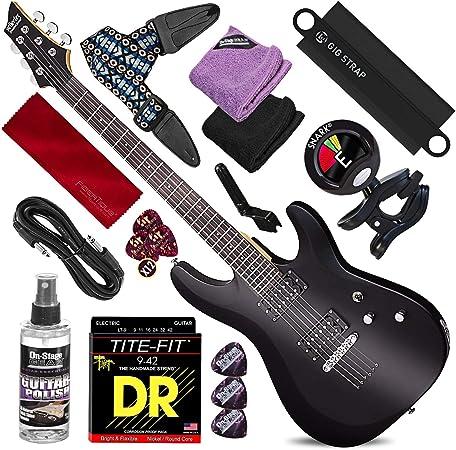 Schecter 432 C-6 Deluxe Guitarra eléctrica de cuerpo sólido ...