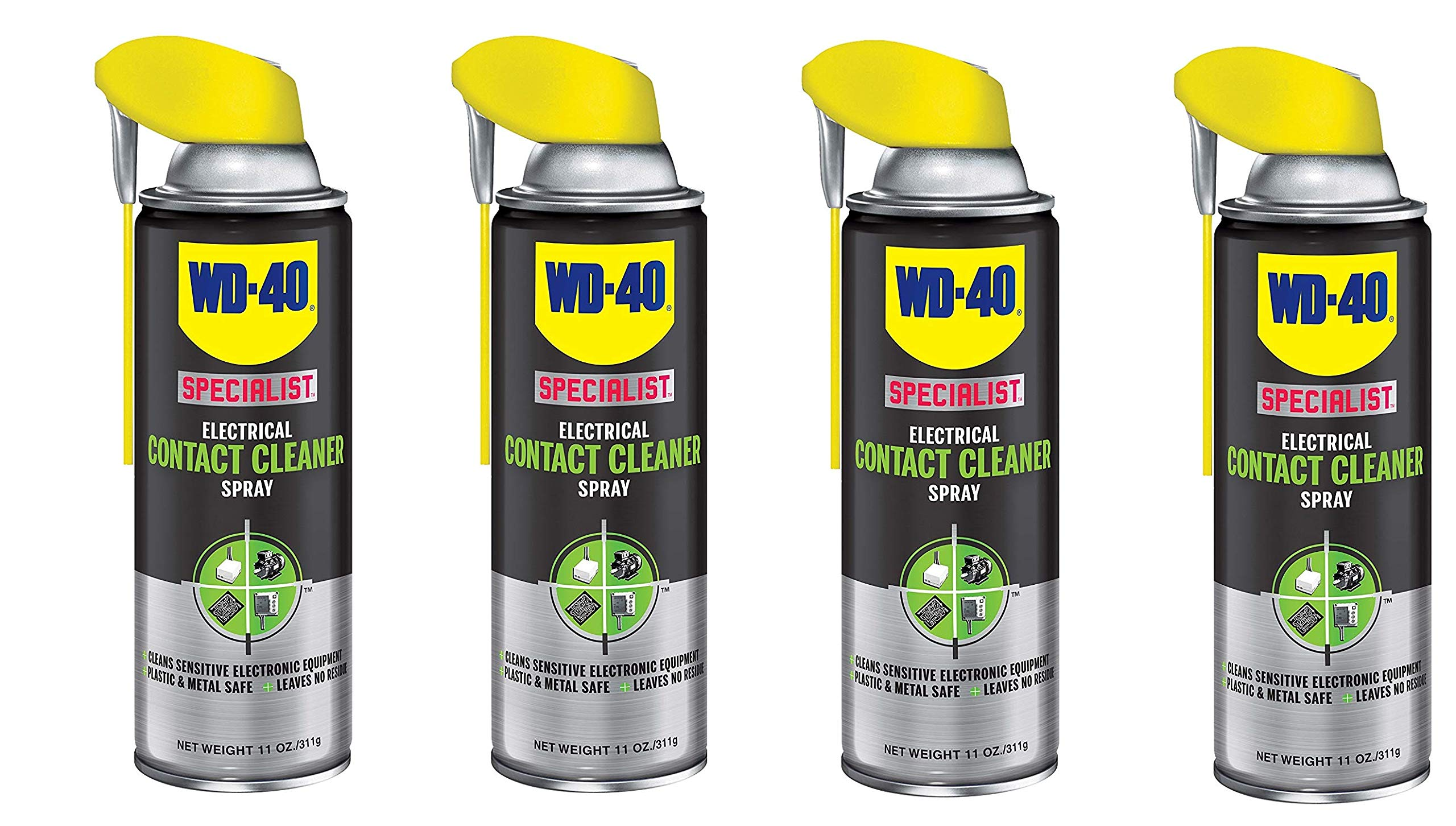 Specialist Electrical Contact Cleaner Spray, Electronic and Electrical Equipment Cleaner, 11 oz, 300554-E