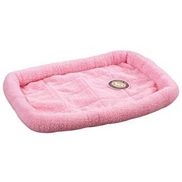 Slumber Pet Sherpa Crate Beds - Comfortable Bumper-Style Beds for Dogs and Cats,