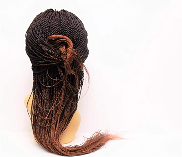 8021cb6ebc7 Senegalese Twist Wig Braided Wig For Black Women Lace Front Braided Wig