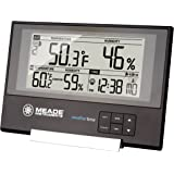Meade Instruments TE256W Slim Line Personal Weather Station with Atomic Clock