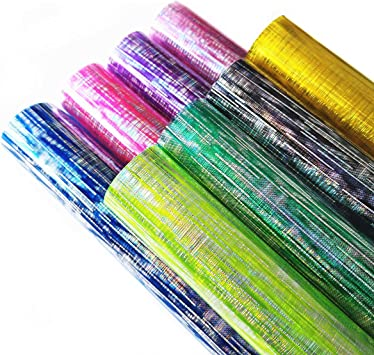 GLITTER TRANSPARENT PVC A4 CHOICE OF COLOURS YELLOW PINK PURPLE CLEAR BLUSH RED