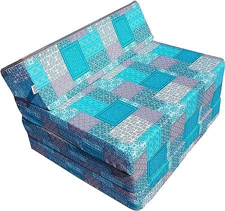 Tamaño del colchón plegado: argeur: 70 cm, profundidad: 60 cm, seat-hauteur: 30 cm, altura total: 50