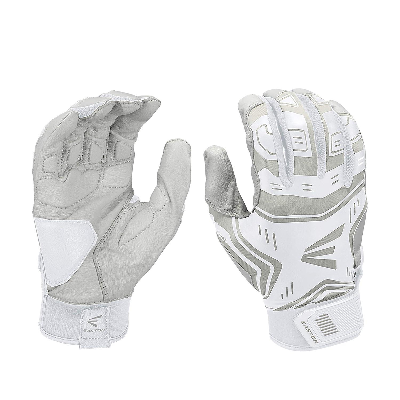 Easton Z7 VRS Black Large Youth Baseball//Softball Batting Gloves Pair