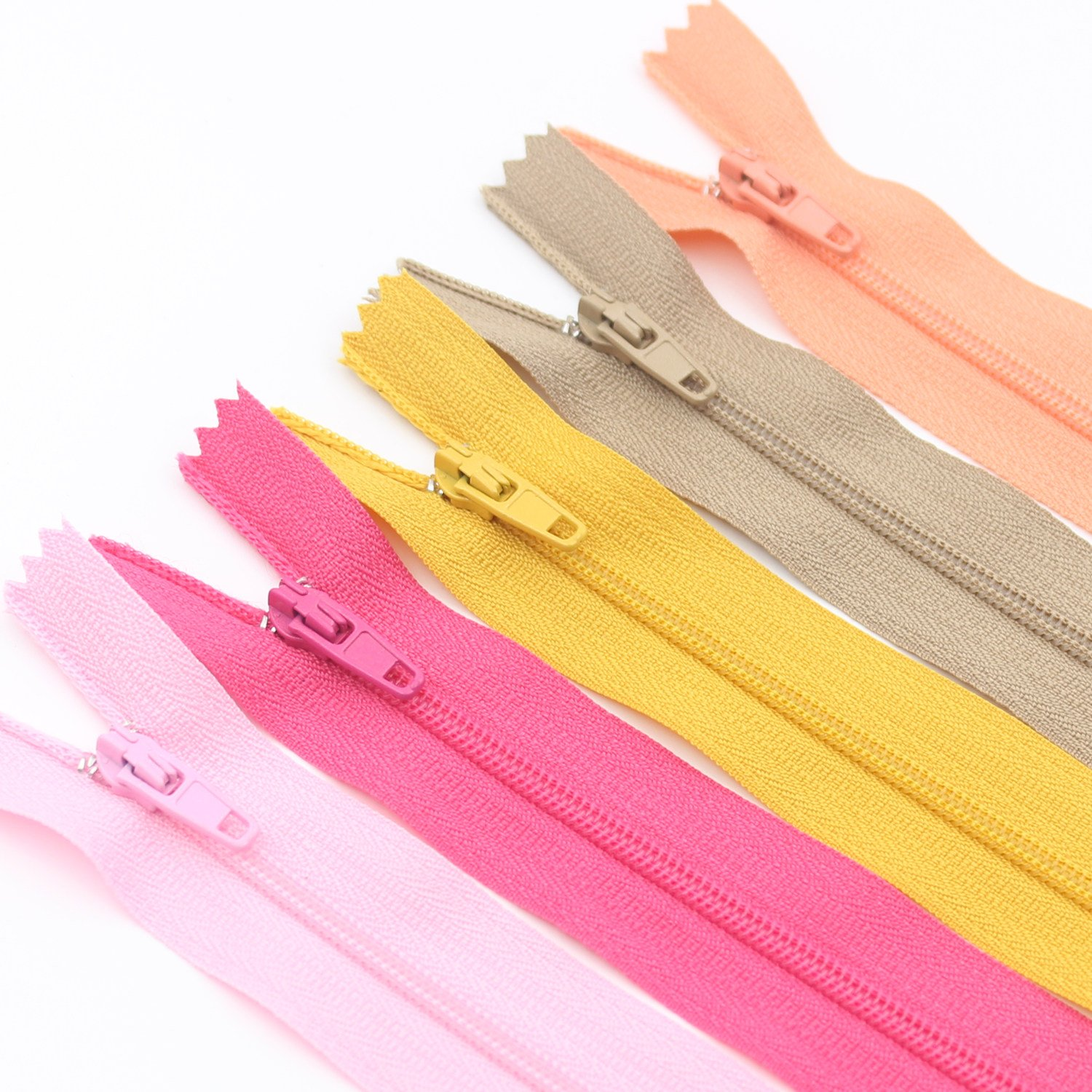 Nylon Coil Zippers for Sewing Crafts Tailor Bulk... YaHoGa 100pcs 7 Inch 18cm