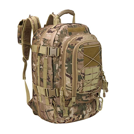 Review GreenCity 3 Day Expandable Tactical Backpack, Companion Military Sport,Camping,Hiking