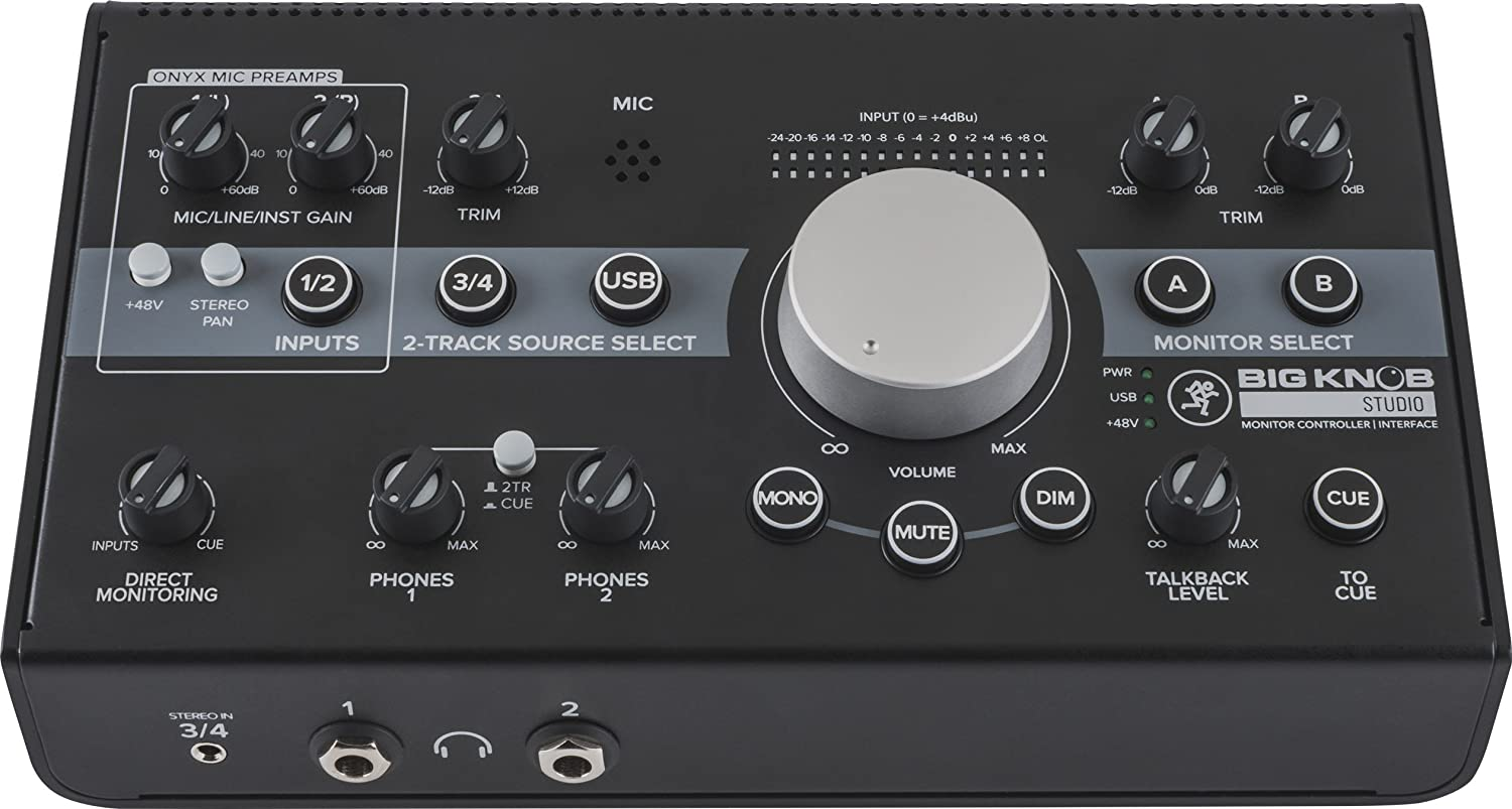 Mackie BIG KNOB PASSIVE Monitor Controller Loud Technologies Inc.