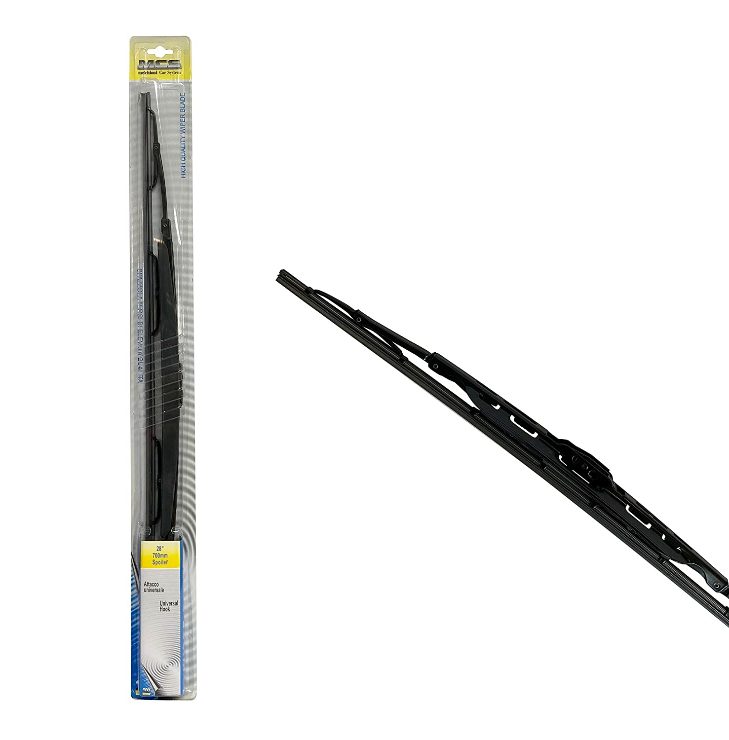 700/mm Melchioni 360003008/Wiper Blade with Spoiler \ 28