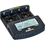 AccuPower LCD Fast Charger IQ338XL for Li-Ion NiMH NiCd AAA AA C D 18650