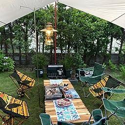 Amazon キャプテンスタッグ Captain Stag キャンプ バーベキュー用 机 Csクラシックス ロールテーブル 70up 1008 キャプテンスタッグ Captain Stag テーブル