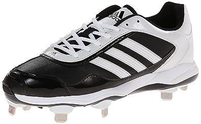 adidas Performance Women's Abbott Pro Metal 2 Softball Cleat, Core Black/Running  White/