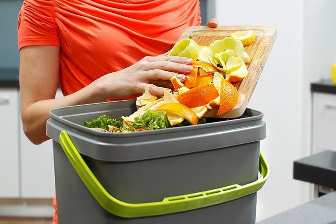 bokashi Orga Nico Juego – innovadora bio Cubo de basura para basura de cocina y Compost