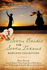 Seven Brides for Seven Texans Romance Collection: The Hart Brothers Must Marry or Lose Their Inheritance in 7 Historical Novellas Kindle Edition
