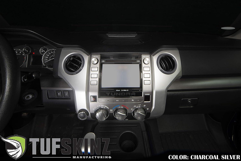 TufSkinzCenter Console Shifter Accent Trim Fits 2014-Up Toyota Tundra