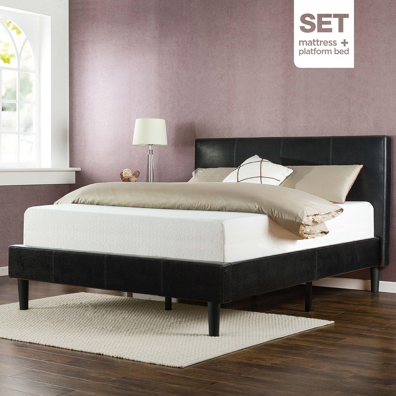 Amazoncom Zinus Sleep Master Memory Foam 12 Inch Mattress and