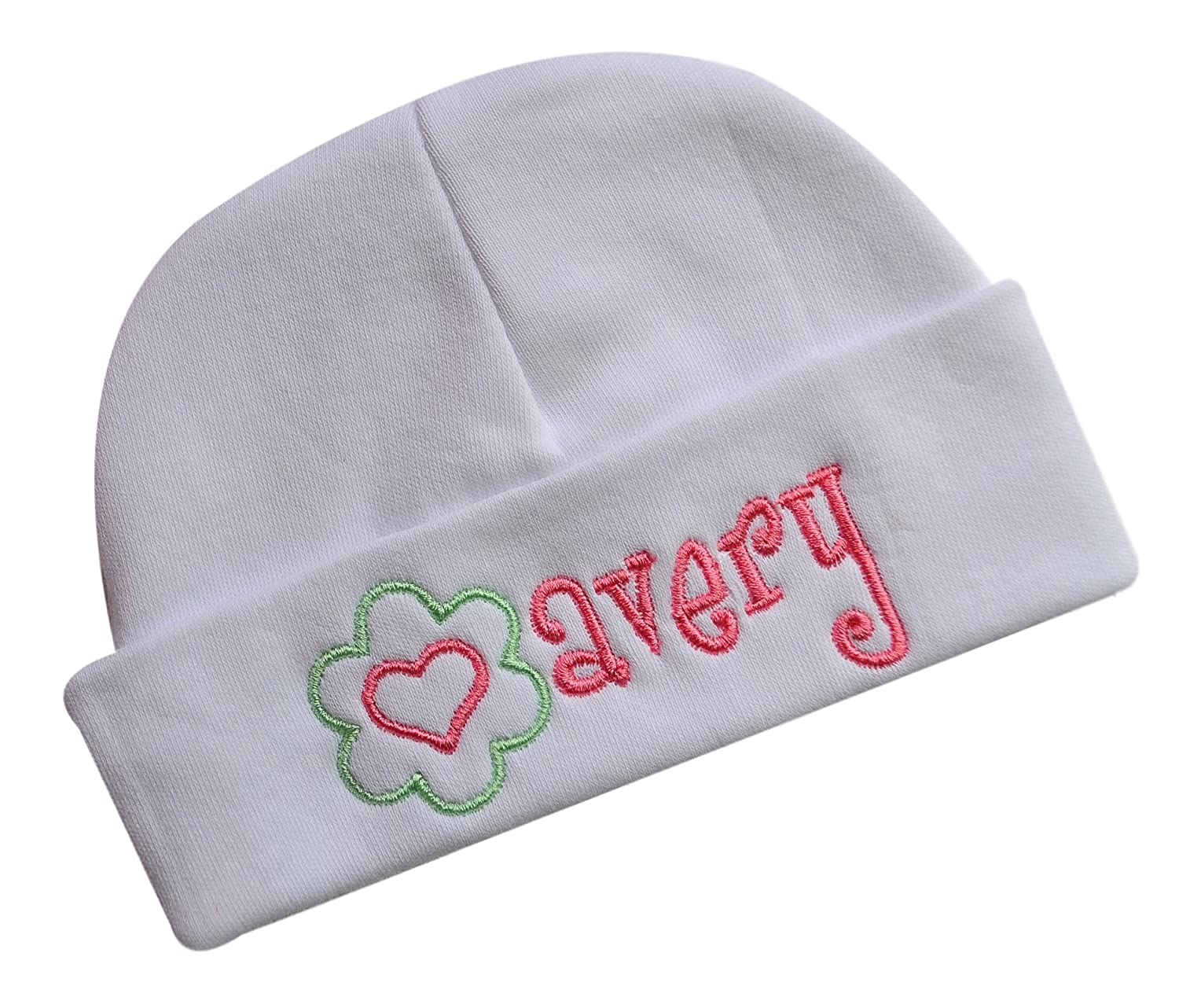 Personalised Baby Hat Name Embroidered Choose Hat Colour Ideal Gift Newborn