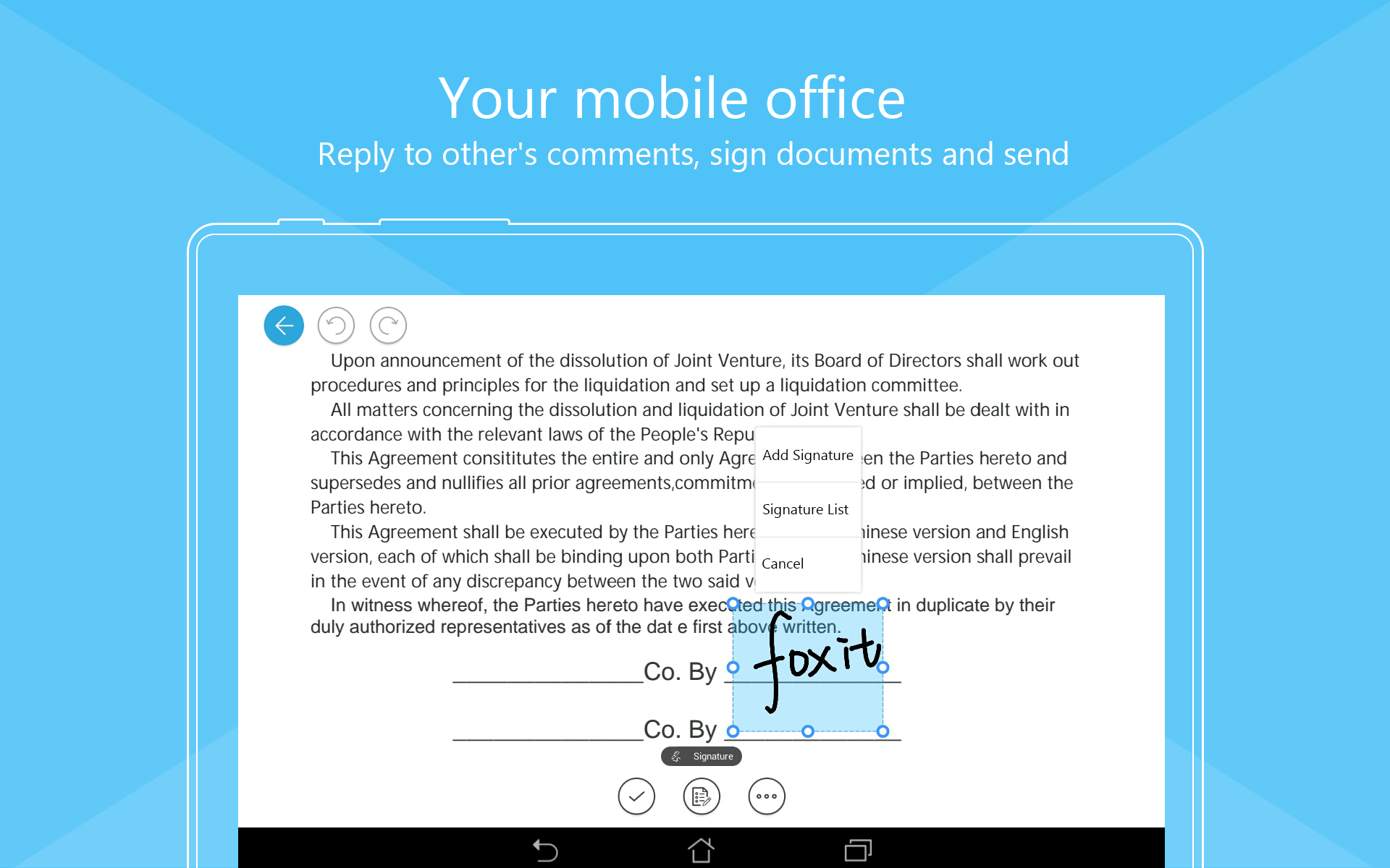 simple pdf reader for android