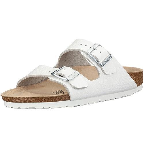 Birkenstock Arizona, Zapatos con Hebilla Unisex Adulto, Marrón (Habana), 41 EU (Estrecho)