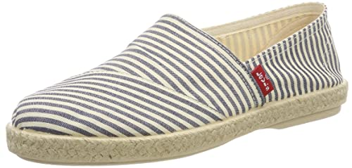 Levis Footwear and Accessories Rosedale, Alpargata para Mujer, Azul (Navy Blue 17)