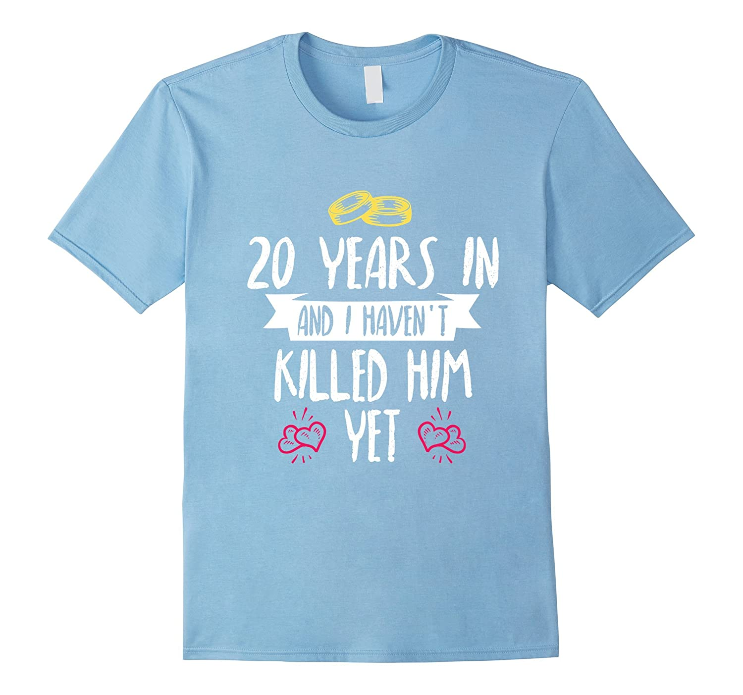 20 Years Anniversary Gift Idea for Her – 20 Years In T-Shirt
