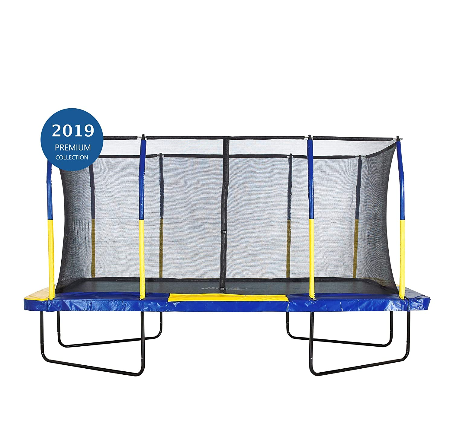 (2.7m X 4.6m, Blue and Yellow) - Upper Bounce Easy Assemble