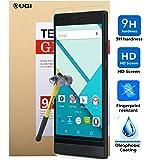 Blu VIVO 6 Screen protector, KuGi ® Blu VIVO 6 Screen Protector - 9H Hardness HD clear Tempered Glass Screen Protector for Blu VIVO 6 smartphone