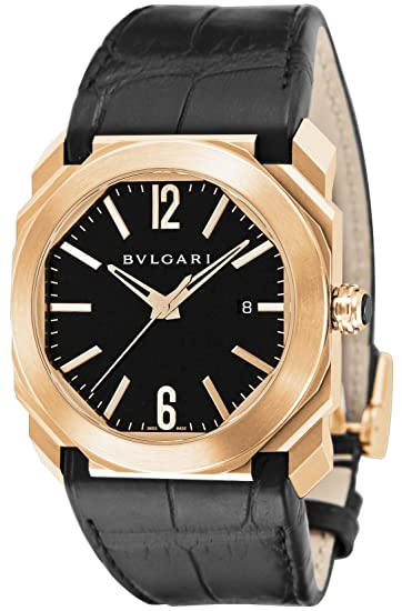 the latest 0f06b 5c111 BVLGARI Bulgari oct BGOP41BGLD: Amazon.ca: Watches