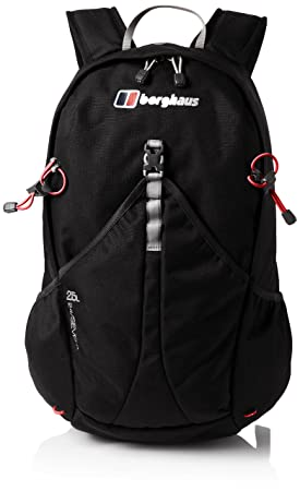 Berghaus TwentyFourSeven Plus 25 Litre Outdoor Rucksack Backpack, Black ae045b67e5
