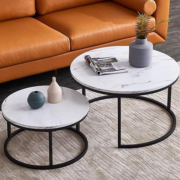 Modern Nesting Coffee Tables Set