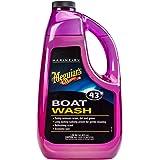 MEGUIAR'S  M4364 Marine/RV Boat Wash, 64 Fluid Ounces, Beige, 3.2 x 10.2 x 5.4 inches