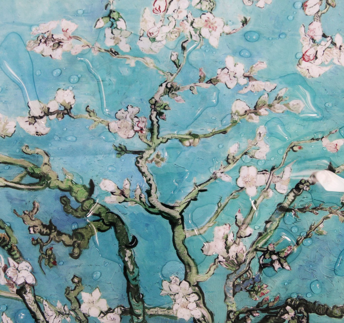 Reusable Grocery Bags with Zipper Closure,Foldable into Zippered Pocket … (Apricot tree) by BeeGreen (Image #7)