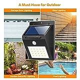 Solar Lights 20 LED HETP Wireless Waterproof