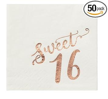 Amazon.com: Servilletas de papel desechables para fiestas de ...