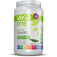 Vega One All-In-One Natural Unsweetened 22 Servings Nutritional Shake