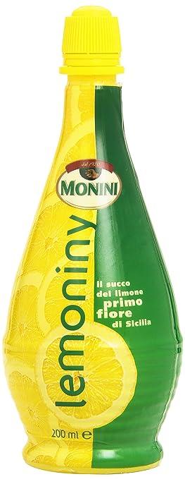 10 opinioni per Monini- lemoniny, il Succo del Limone Primo Fiore di Sicilia, 200 ml