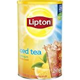 Lipton Iced Tea Mix, Lemon 28 qt (Pack of 2)