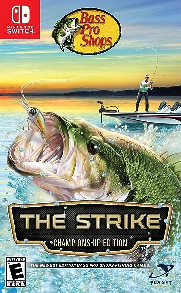 Amazon Com Bass Pro Shops The Strike Championship Edition Nintendo Switch Video Games