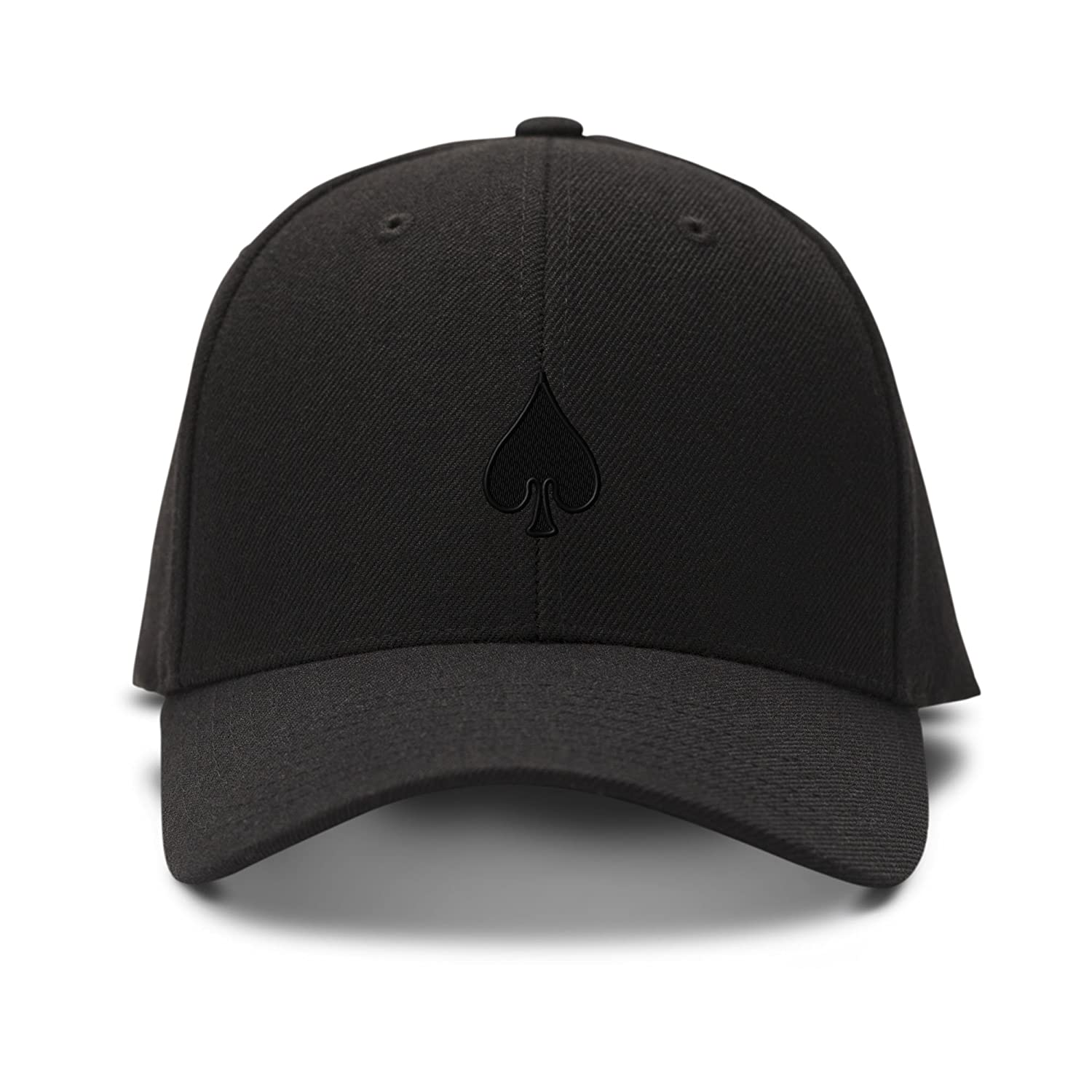 Amazon.com  Spade Poker Card Playing Embroidery Adjustable Structured  Baseball Hat Black  Clothing 81001724641