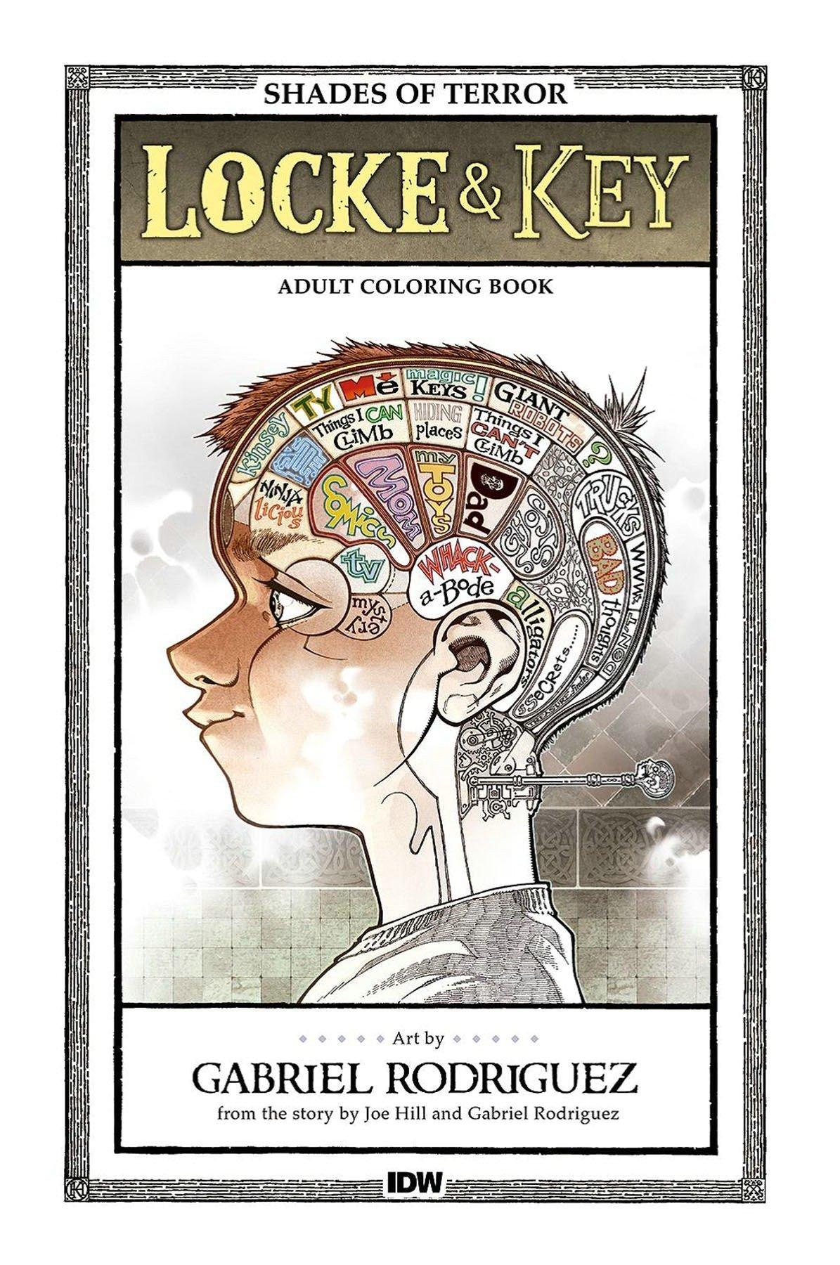 Locke & Key: Shades of Terror Coloring Book PDF