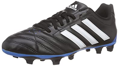 best website bc609 1522d adidas Mens Firm Ground Football Boots Goletto V FG Soccer Cleats-Black-6.5