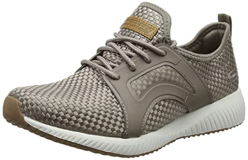 Skechers BOBS from Womens Bobs Sport - Insta Cool Taupe 5 B - Medium