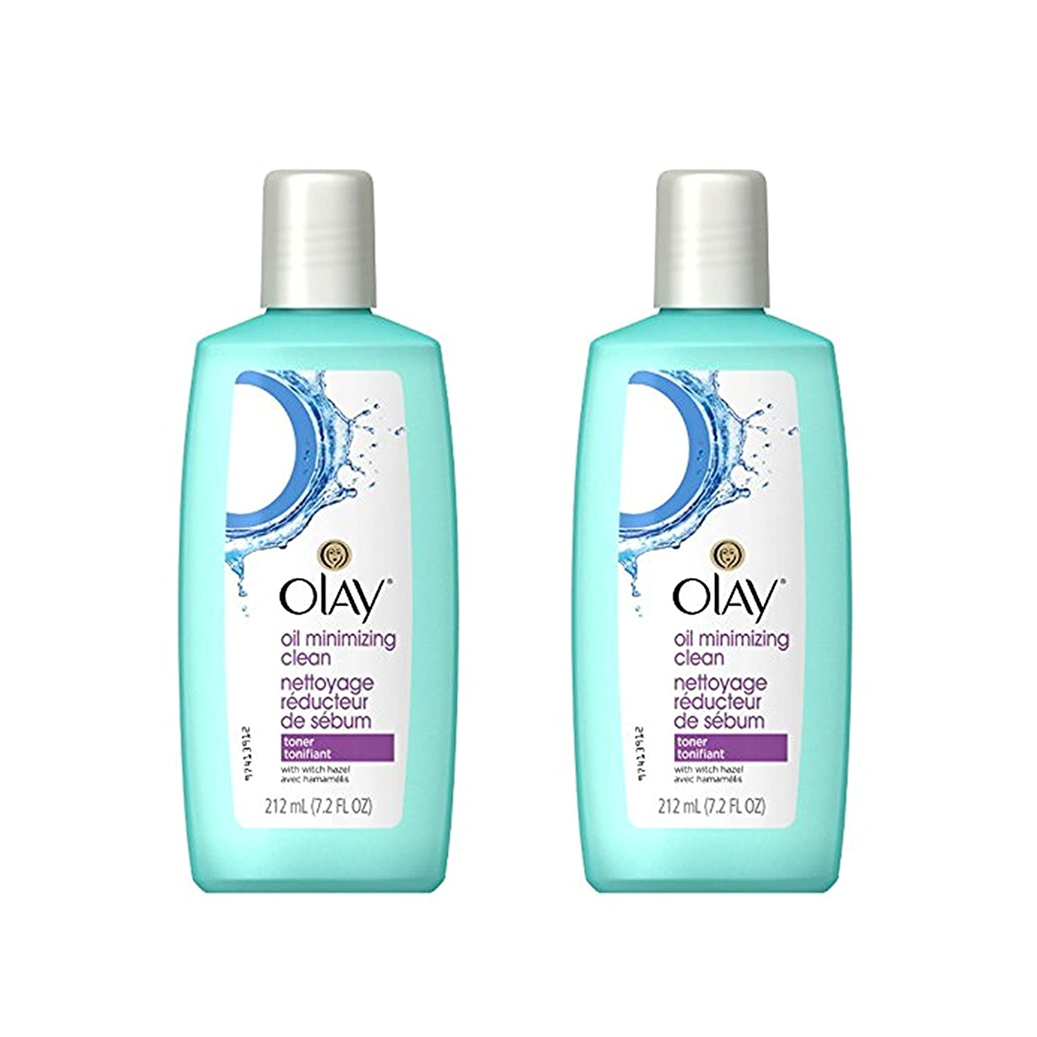 Olay Oil Minimizing Clean Toner, 212 mL - (Pack of 2) NA
