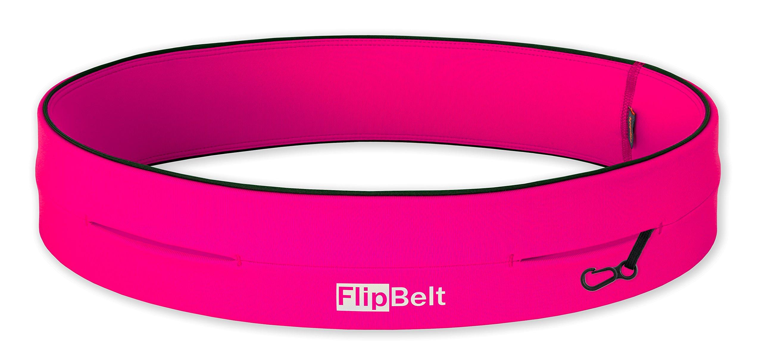 FlipBelt Level Terrain Waist Pouch, Hot Pink, X-Small/22-25