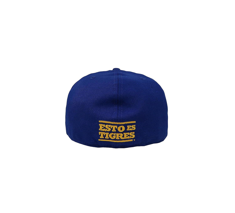 d15ae0e07d8 New Era 59Fifty Hat Tigres De Monterrey Soccer Club Liga MX Blue Gold  Headwear Cap at Amazon Men s Clothing store