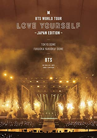 Amazon.com: BTS World Tour 'Love Yourself' (Japan Edition) (Incl. 24pg  Photobook) [Blu-ray]: Movies & TV