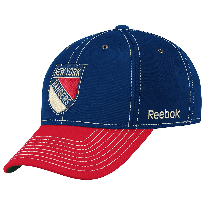 Amazon.com   NHL New York Rangers Winter Classic Structured Flex Fit Hat    Sports Fan Baseball Caps   Clothing 9407aea6af1