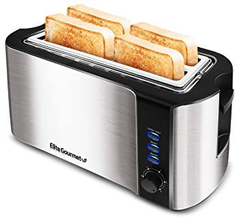 Maxi-Matic Extra Wide Slots 4-Slice Toaster