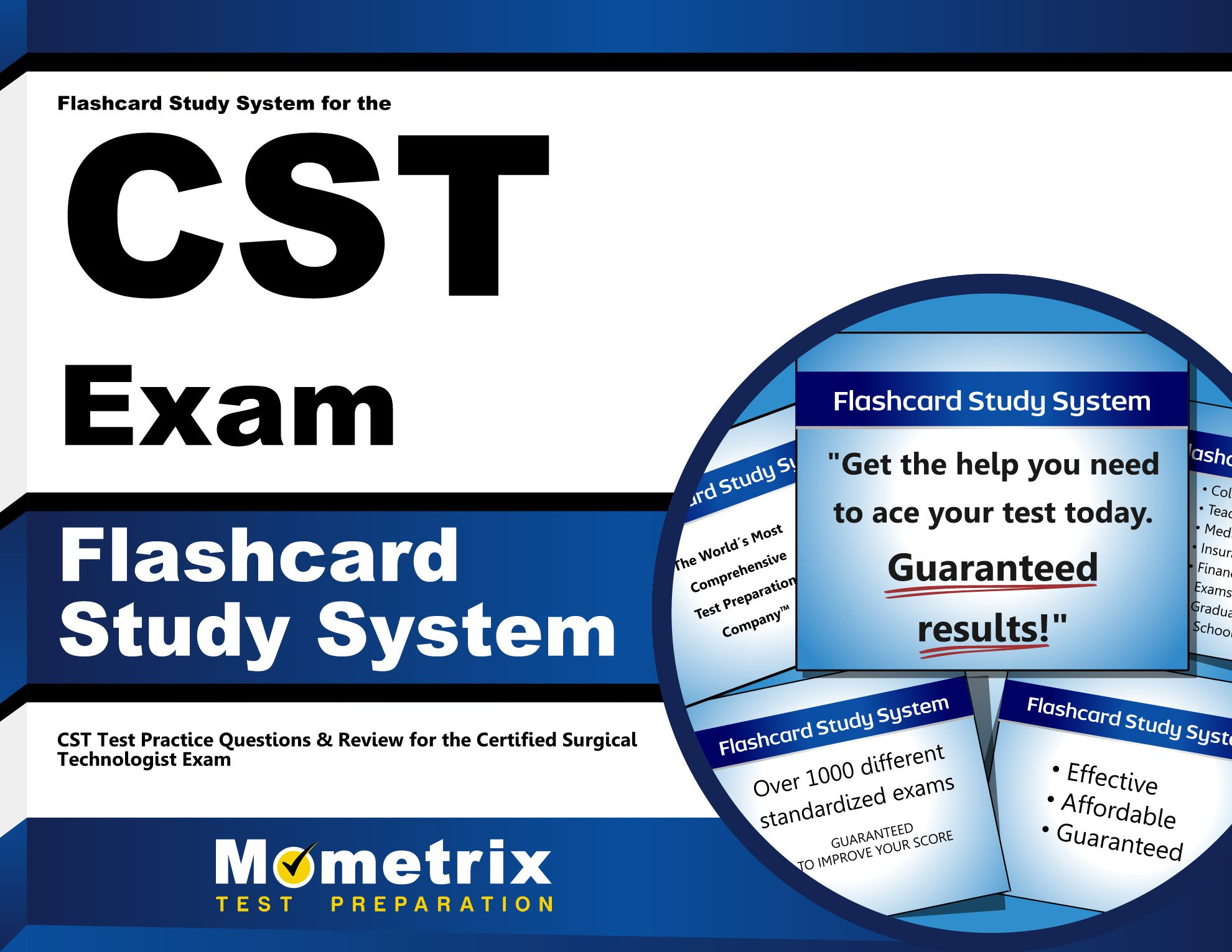 Flashcard Study System for the CST Exam: CST Test Practice Questions