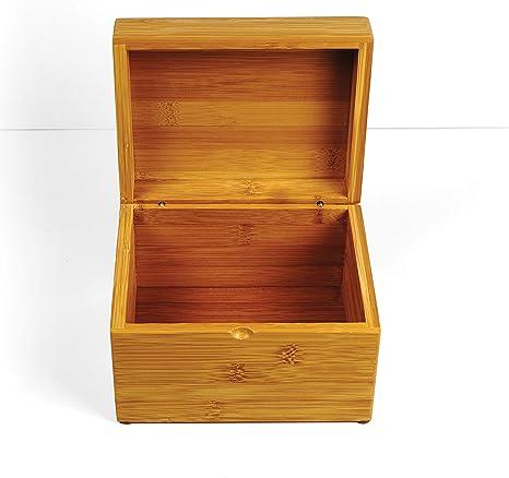 RSVP International BOO-RB Caja de recetas de bambú, Multicolor: Amazon.es: Hogar
